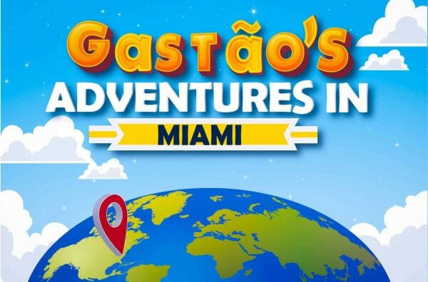 Gastão's Adventures In Miami Book, 2020. Published by Nonsuch Editions.
